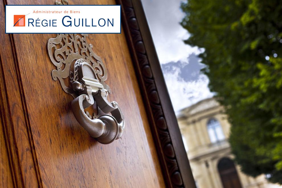 R gie guillon immobilier for Regie immobilier